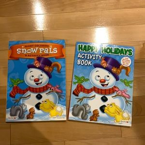 FREE with Bundle Holiday colouring & Activity Book